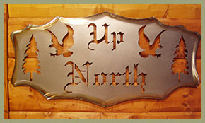 Custom Steel Signs